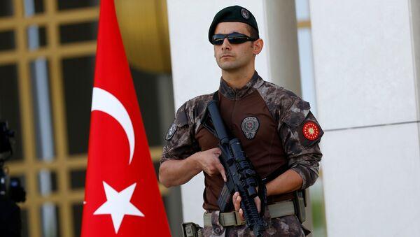 Специјална полиција Турске у Истанбулу, Турска - Sputnik Србија