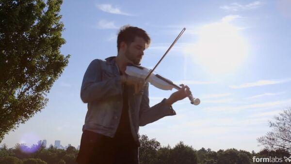 Rhett Price Debuts Formlabs' 3D-Printed Violin - Sputnik Srbija