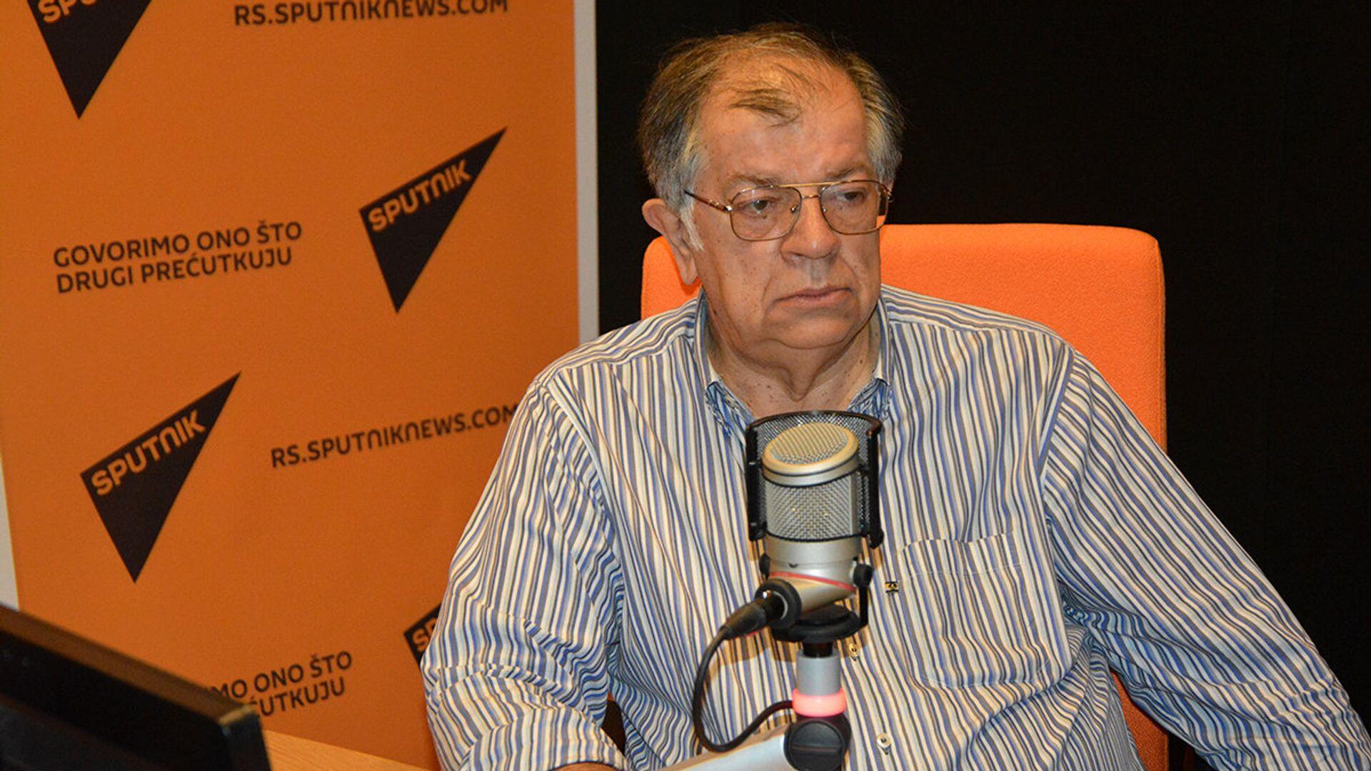 Profesor Nenad Kecmanović - Sputnik Srbija, 1920, 02.09.2021