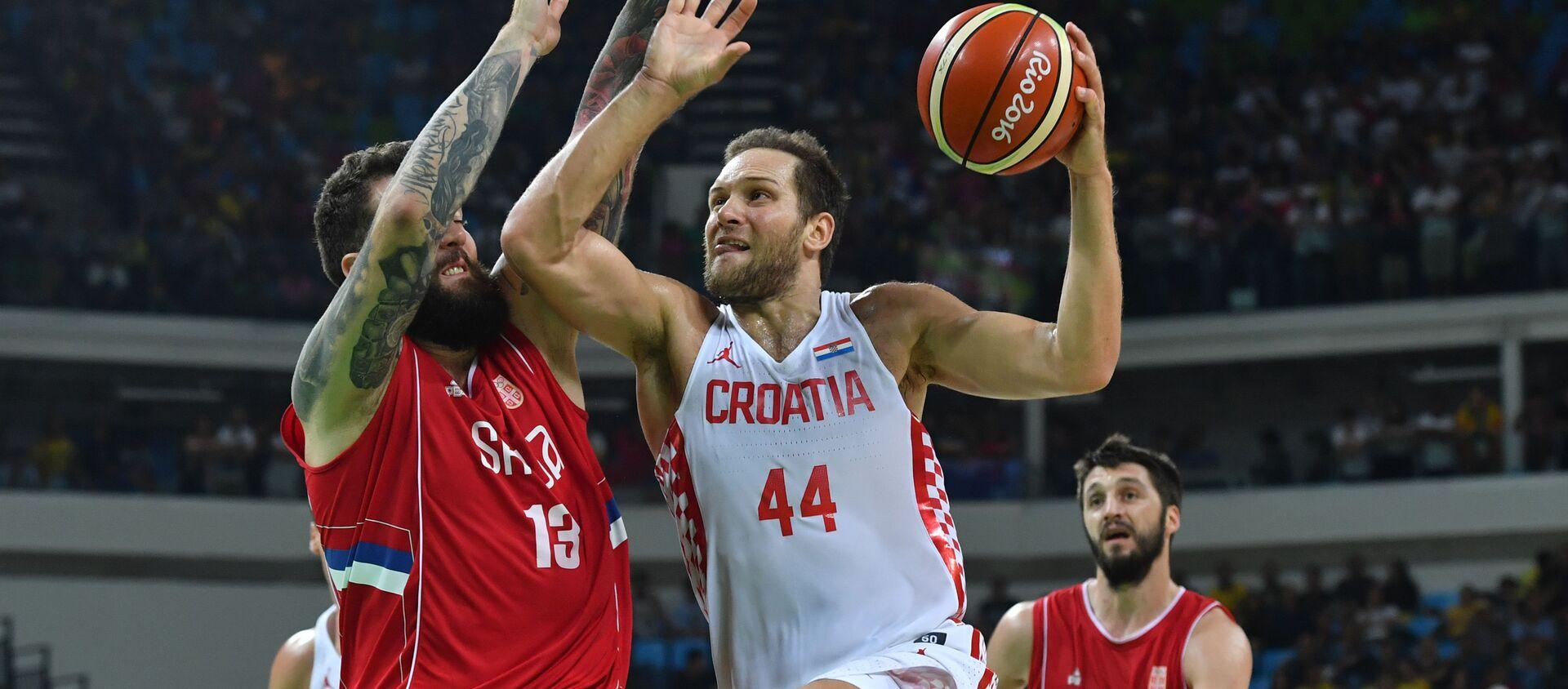 Србија, Хрватска кошарка - Sputnik Србија, 1920, 02.03.2021