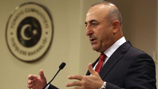 Турски министар иностраних послова Мевлут Чавушоглу - Sputnik Србија