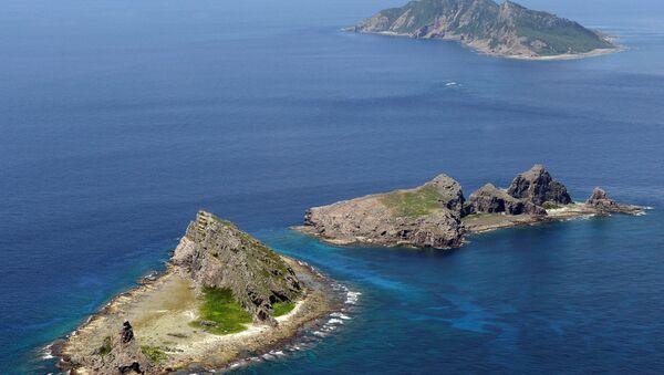 Група спорних острва у Источном кинеском мору, Минамикоџима, Китакоџима и Утсури, познатија као острва Сенкаку у Јапану и Дјаоју у Кини. - Sputnik Србија