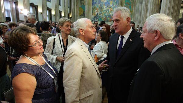Званице на свечаном пријему поводом 23. међународног конгреса византолога. - Sputnik Србија