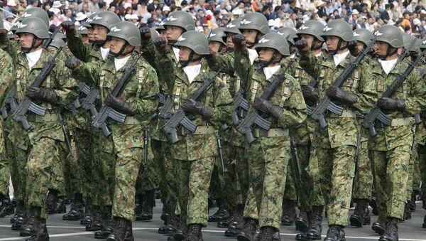 Pešadijske jedinice japanskih oružanih snaga - Sputnik Srbija