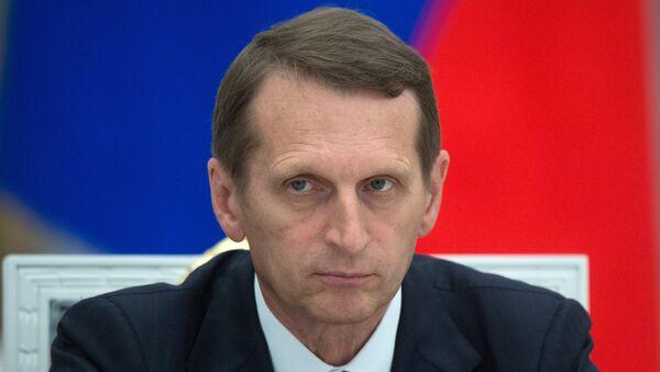 Сергеј Наришкин - Sputnik Србија
