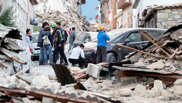 Zemljotres u Italiji - Sputnik Srbija