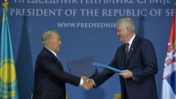 Srbija i Kazahstan, potpisivanje sporazuma - Sputnik Srbija
