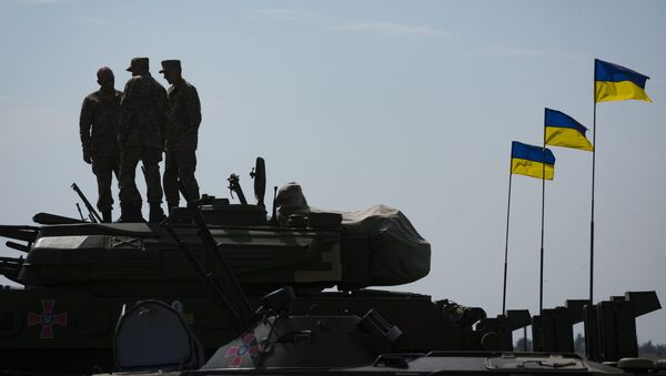 Украјински тенкови - Sputnik Србија
