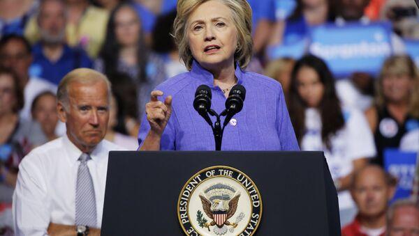 Кандидат Демократске партије за председника САД Хилари Клинтон - Sputnik Србија