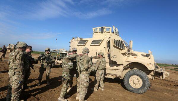 Kurdske snage bezbednosti. Oko 150 američkih vojnika dolaze u severoistočnu Siriju - Sputnik Srbija
