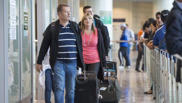 Novi putnički terminal na aerodromu Domodedovo, Moskva - Sputnik Srbija