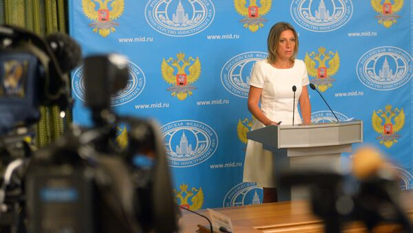 Званична представница Министарства иностраних послова Русије Марија Захарова - Sputnik Србија