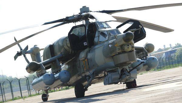 Војни хеликоптер Ми-28-НЕ Ноћни ловац - Sputnik Србија