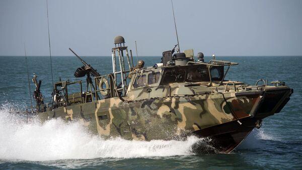Војни брод америчке морнарице у Персијком заливу - Sputnik Србија