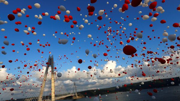 Отварање новог моста на Босфору, Турска - Sputnik Србија