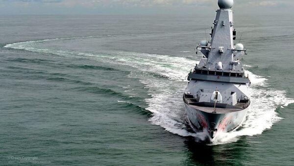 Разарач Ратне морнарице Велике Британије - Sputnik Србија