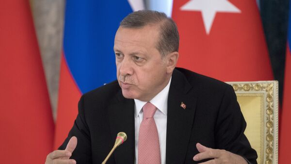 Turski predsednik Redžep Tajip Erdogan - Sputnik Srbija