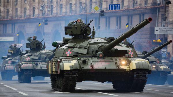 Украјинки тенк Т-64М Булат  - Sputnik Србија