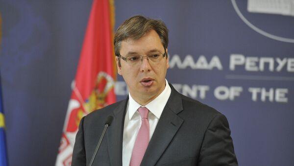 Александар Вучић, премијер Србије - Sputnik Србија