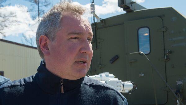 Potpredsednik vlade Rusije zadužen za vojni sektor Dmitrij Rogozin - Sputnik Srbija