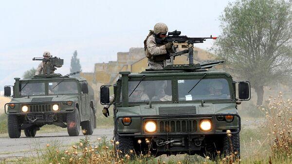 Američki vojnici na vojnoj vežbi  - Sputnik Srbija