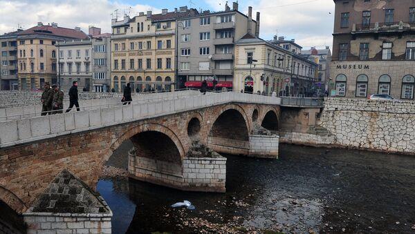 Latinska ćuprija (Principov most) u Sarajevu, BiH - Sputnik Srbija