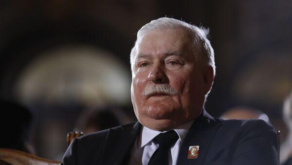 Бивши председник Пољске Лех Валенса  - Sputnik Србија