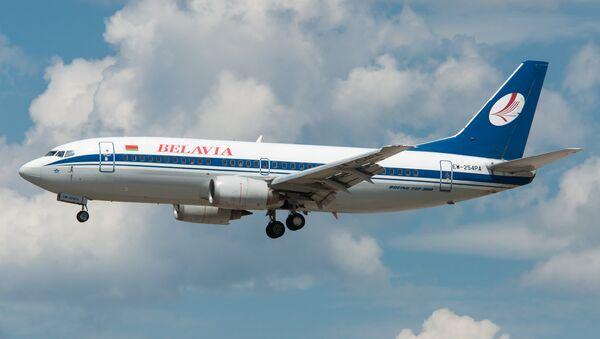 Авион компаније Белавиа - Sputnik Србија