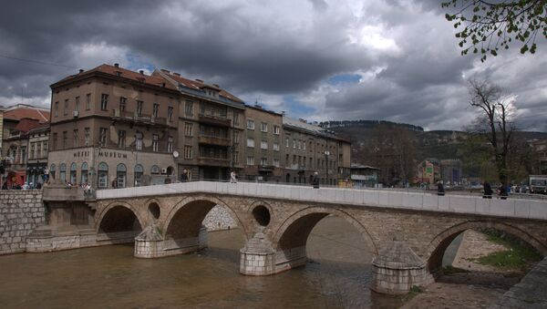 Латинска ћуприја (Принципов мост) у Сарајеву, БиХ - Sputnik Србија