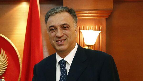 Председник Црне Горе Филип Вујановић - Sputnik Србија