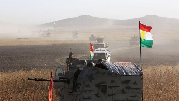 Борци курдске пешмерге у Мосулу, Ирак - Sputnik Србија
