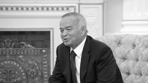 Predsednik Uzbekistana Islam Karimov - Sputnik Srbija