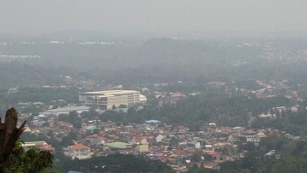 Поглед на град Давао, Филипини - Sputnik Србија