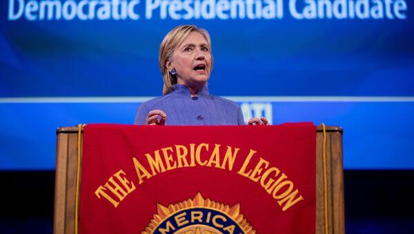 Хилари Клинтон током предизборне кампање у Синсинатију. - Sputnik Србија