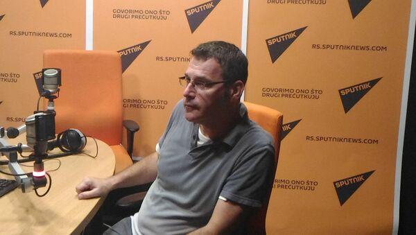 Pisac Vladimir Arsenijević - Sputnik Srbija