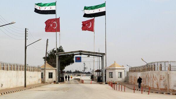 Sirijsko-turska granica - Sputnik Srbija
