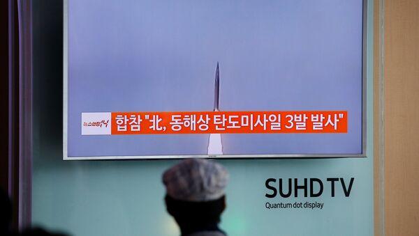 Severna Koreja ispalila rakete - Sputnik Srbija