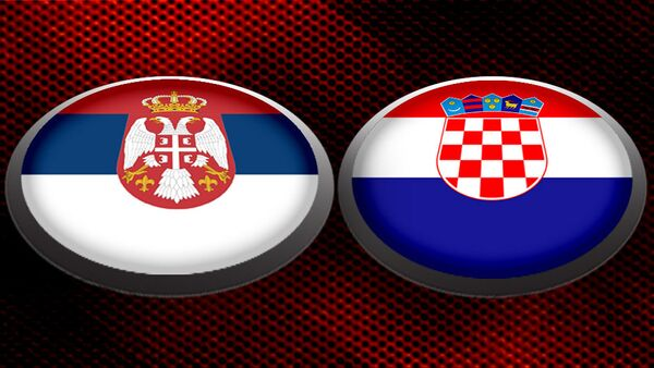 Srbija Hrvatska - ilustracija - Sputnik Srbija