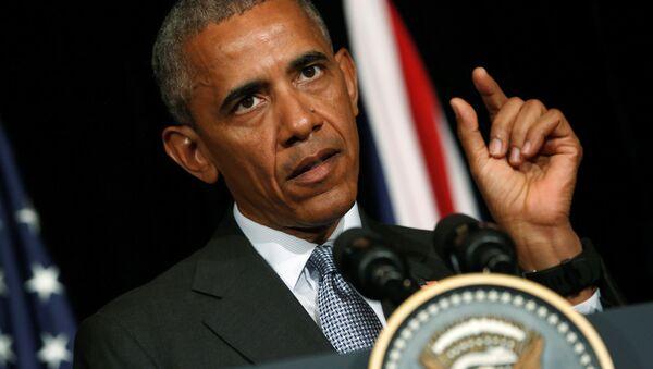 Predsednik  SAD Bark Obama - Sputnik Srbija