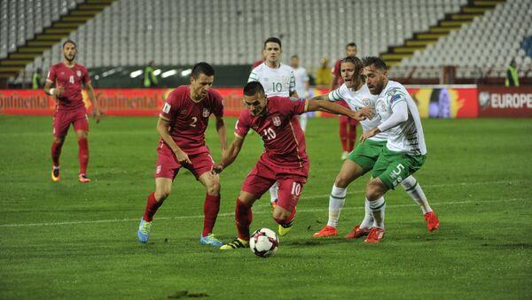 Duel tokom kvalifikacione utakmice za Svetsko prvenstvo u Rusiji 2018. godine između Srbije i Republike Irske - Sputnik Srbija