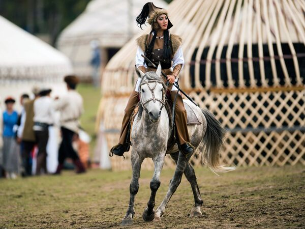 Киргиски дух номадског живота - Sputnik Србија