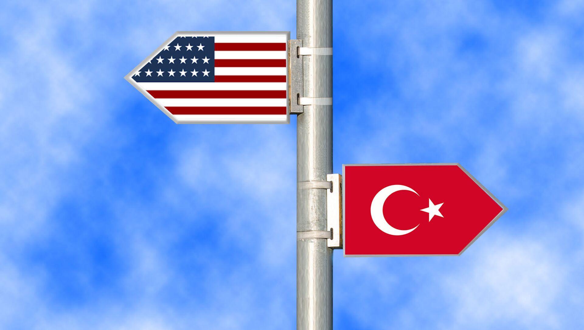 SAD i Turska  - Sputnik Srbija, 1920, 15.02.2021