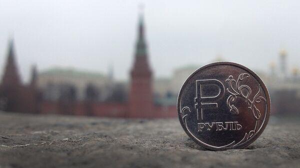 Руска рубља и поглед на Кремљ - Sputnik Србија