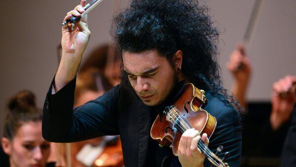 Srpski violinista Nemanja Radulović u Moskvi - Sputnik Srbija