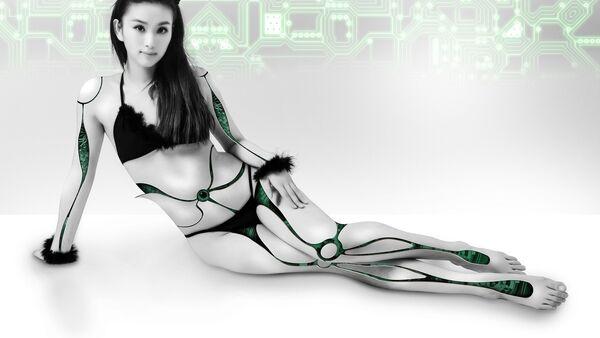 Robot žena kiborg. - Sputnik Srbija