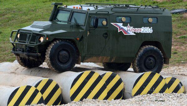 Borbeno vozilo Tigar - Sputnik Srbija