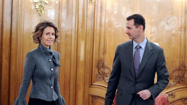 Bašar i Asma Asad - Sputnik Srbija