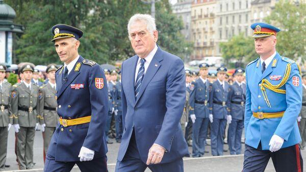Tomislav Nikolić na promociji mladih oficira Vojske Srbije. - Sputnik Srbija
