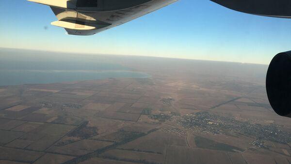 Поглед из авиона на обалу Крима. - Sputnik Србија