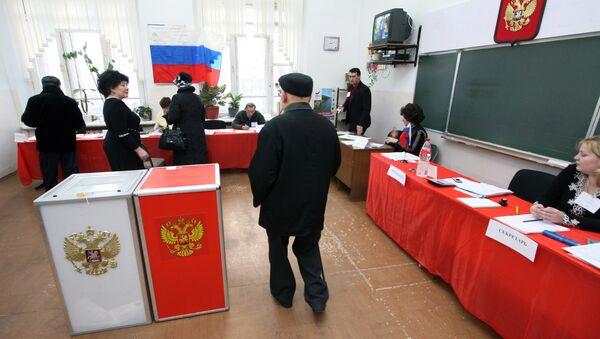 Izbori u Rusiji - Sputnik Srbija